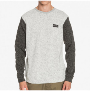 Sudadera Quiksilver: KELLER BL CREW (LIGHT GREY HEATHER) Quiksilver - 1