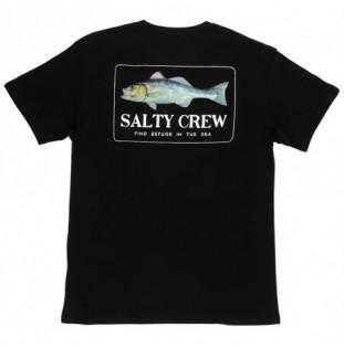 Camiseta Salty Crew: BRANZINO PREMIUM MENS SS (Black)