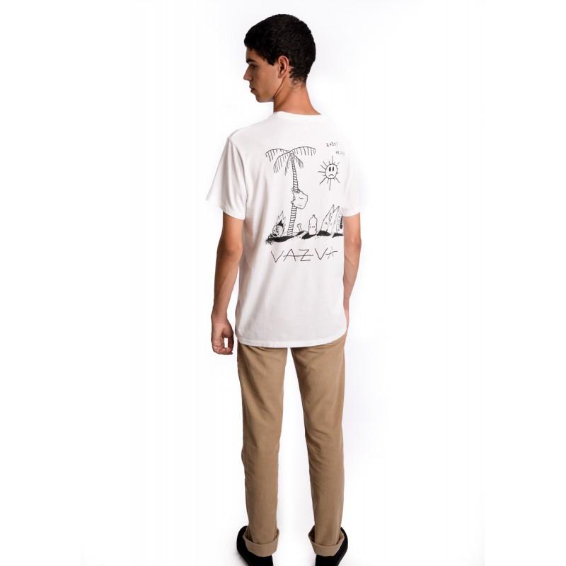 Camiseta Vazva: CAMISETA PARACHUTE (WHITE)