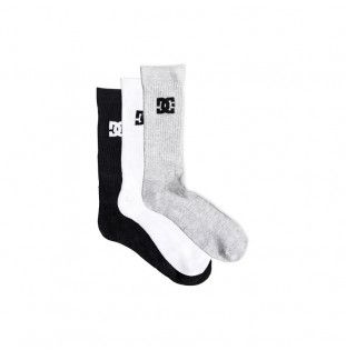 Calcetines DC Shoes: SPP DC CREW 3PK (ASSORTED)