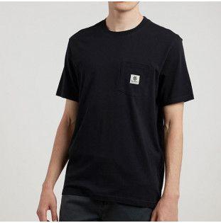 Camiseta Element: BASIC POCKET LABEL S (FLINT BLACK) Element - 1