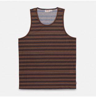 Camiseta Rhythm: EVERYDAY STRIPE SINGLET (Indigo) Rhythm - 1