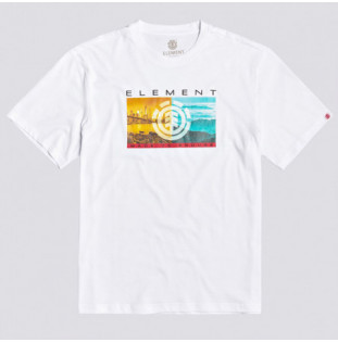 Camiseta Element: SENTINEL SS (OPTIC WHITE) Element - 1