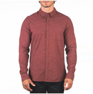 Camisa Hurley: ONE AND ONLY WOVEN 20 LS (MYSTIC DATES) Hurley - 1