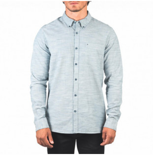 Camisa Hurley: ONE AND ONLY WOVEN 20 LS (ASH GREEN) Hurley - 1