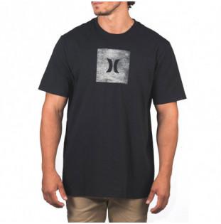 Camiseta Hurley: CORE ICON BOX TEXTURE SS (BLACK) Hurley - 1