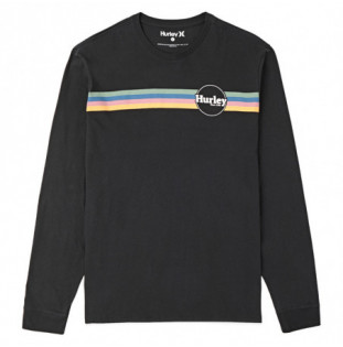 Camiseta Hurley: JAMMER STRIPE LS (BLACK) Hurley - 1