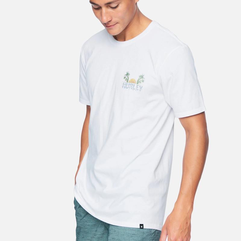 Camiseta Hurley: PEEKABOO SS (WHITE)