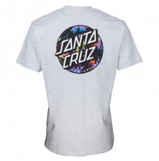 Camiseta Santa Cruz: TEE DOT SPLATTER (ATHLETIC HEATHER) Santa Cruz - 1
