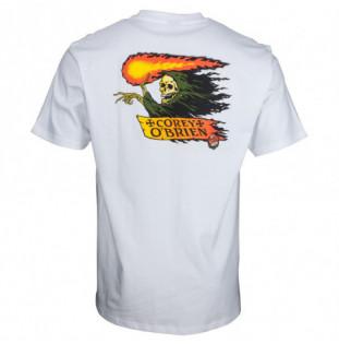 Camiseta Santa Cruz: TEE OBRIEN REAPER (WHITE) Santa Cruz - 1