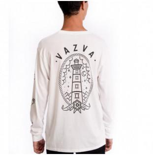 Camiseta Vazva: TS LIGHT LONG (WHITE) Vazva - 1