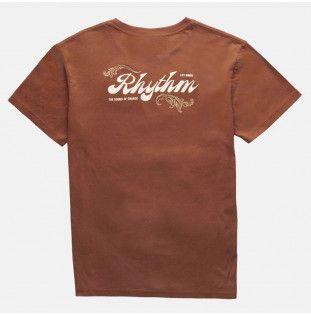 Camiseta Rhythm: LEGACY T-SHIRT (Henna) Rhythm - 1