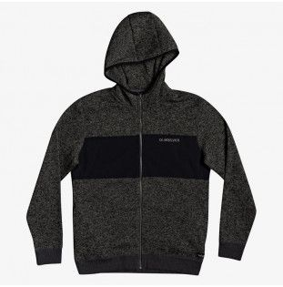 Sudadera Quiksilver: KELLER HZ NYLO (DARK GREY HEATHER) Quiksilver - 1