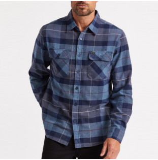 Camisa Brixton: BOWERY LS FLANNEL (NVCBL) Brixton - 1