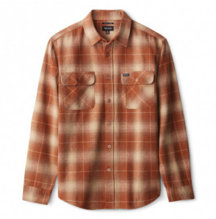 Camisa Brixton: BOWERY LS FLANNEL (COPPR) Brixton - 1