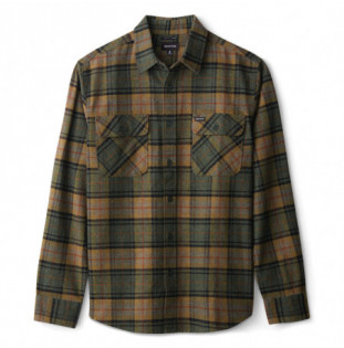 Camisa Brixton: BOWERY LS FLANNEL (EVERG) Brixton - 1