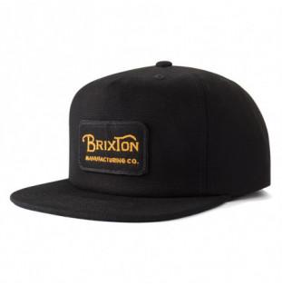 Gorra Brixton: GRADE HP SNAPBACK (BLACK) Brixton - 1