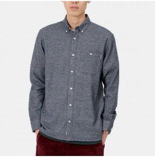 Camisa Carhartt: LS Corey Shirt (Dark Navy) Carhartt - 1
