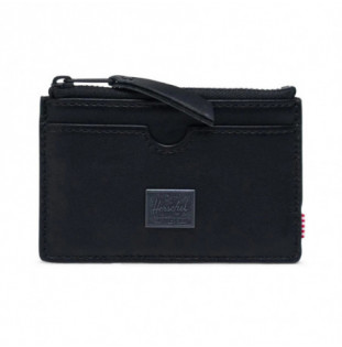 Cartera Herschel: Oscar Leather RFID (Black) Herschel - 1
