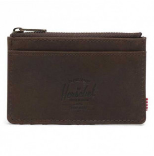 Cartera Herschel: Oscar Leather RFID (Brown) Herschel - 1