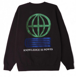 Sudadera Obey: OBEY KNOWLEDGE CREW (BLACK) Obey - 1