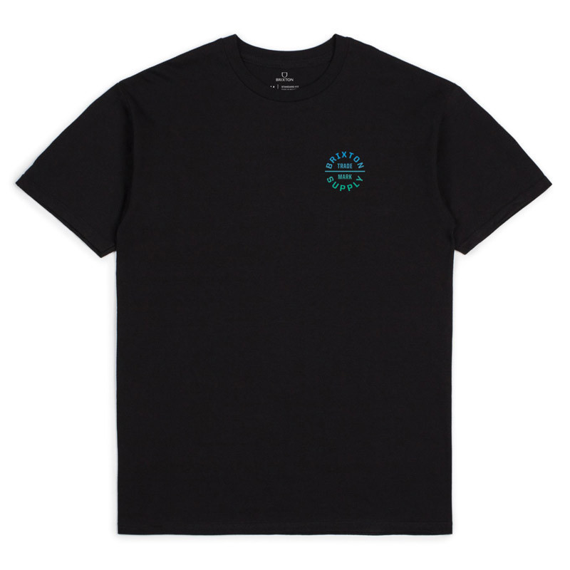 Camiseta Brixton: OATH V SS STT (BLKGR)