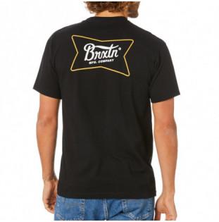 Camiseta Brixton: QUARTER SS STT (BLACK) Brixton - 1