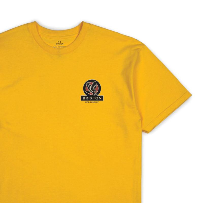 Camiseta Brixton: REACH SS STT (ATHGL)