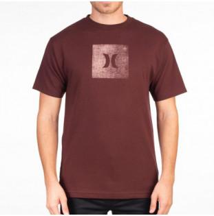 Camiseta Hurley: CORE ICON BOX TEXTURE SS (MYSTIC DATES) Hurley - 1