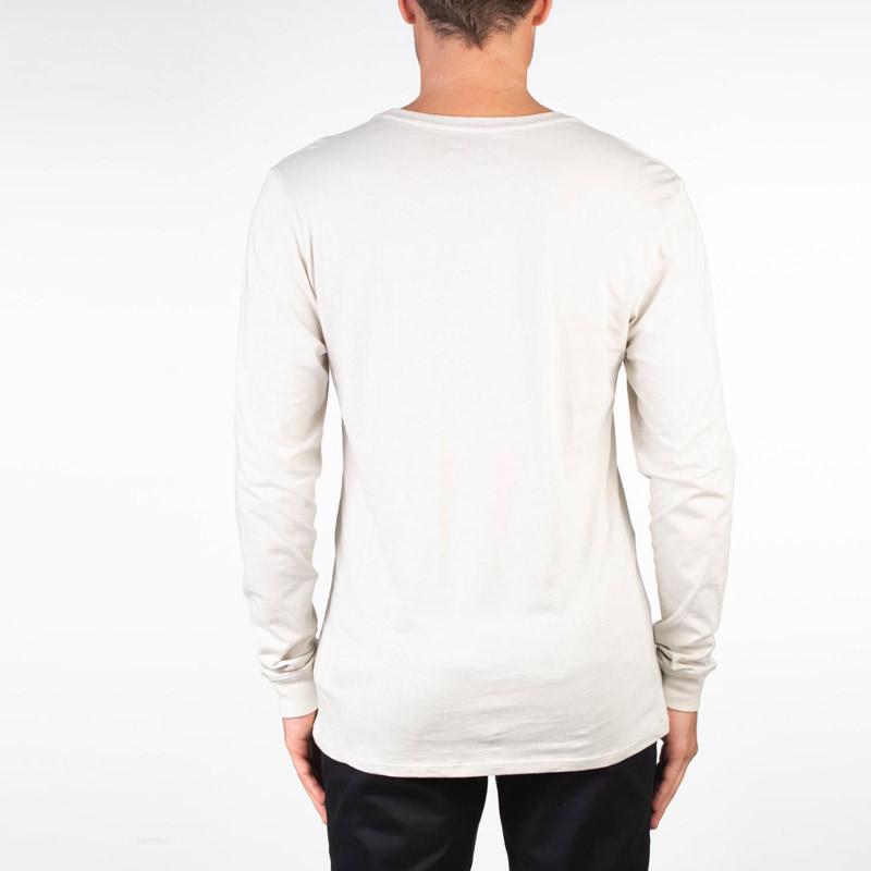 Camiseta Hurley: JAMMER STRIPE LS (LIGHT BONE)