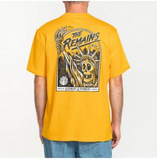 Camiseta Element: LIBERTY SS (OLD GOLD) Element - 1