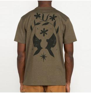 Camiseta RVCA: JOHANNA SS (SEQUOIA GREEN) RVCA - 1