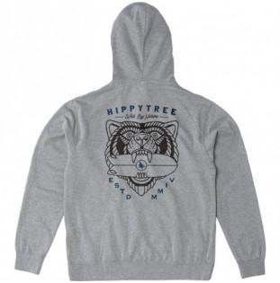Sudadera Hippytree: Beast Hoody (Heather Grey) Hippytree - 1