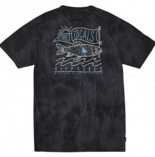 Camiseta Hippytree: Locals Cloud Wash Tee (Asphalt) Hippytree - 1