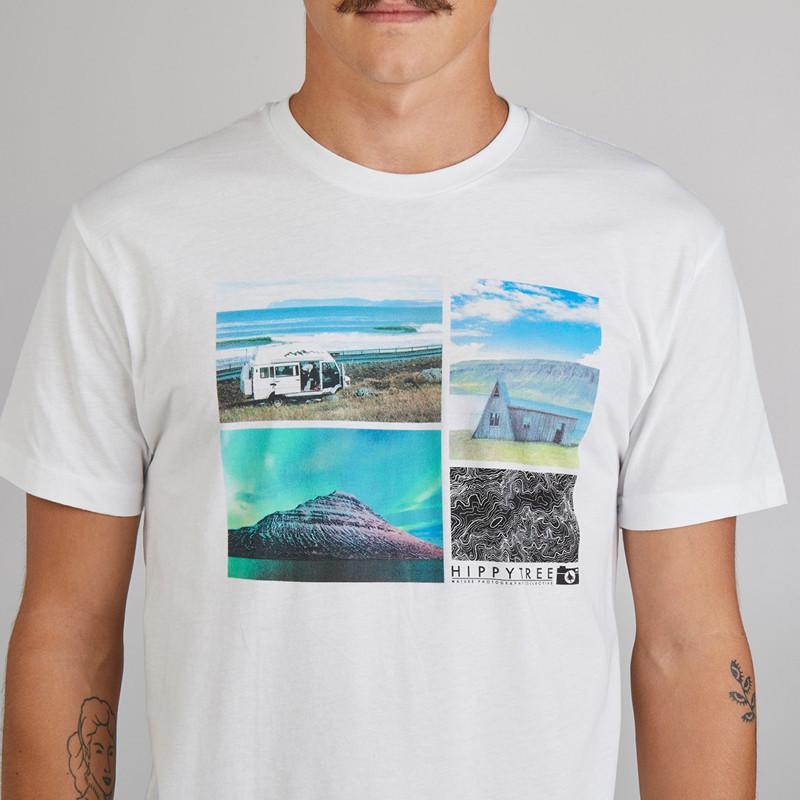 Camiseta Hippytree: Overland Eco Tee (White)