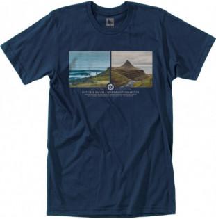 Camiseta Hippytree: Arctic Tee (Heather Navy) Hippytree - 1