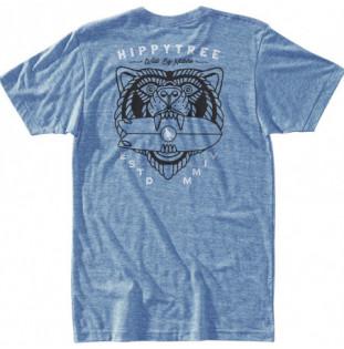Camiseta Hippytree: Beast Tee (Heather Light Blue) Hippytree - 1