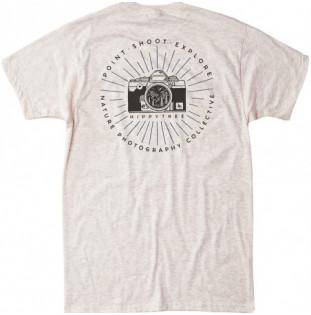 Camiseta Hippytree: Focal Point Tee (Heather Natural) Hippytree - 1