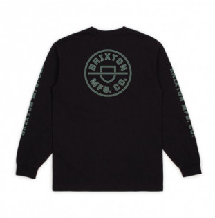 Camiseta Brixton: CREST LS STT (BLACK) Brixton - 1