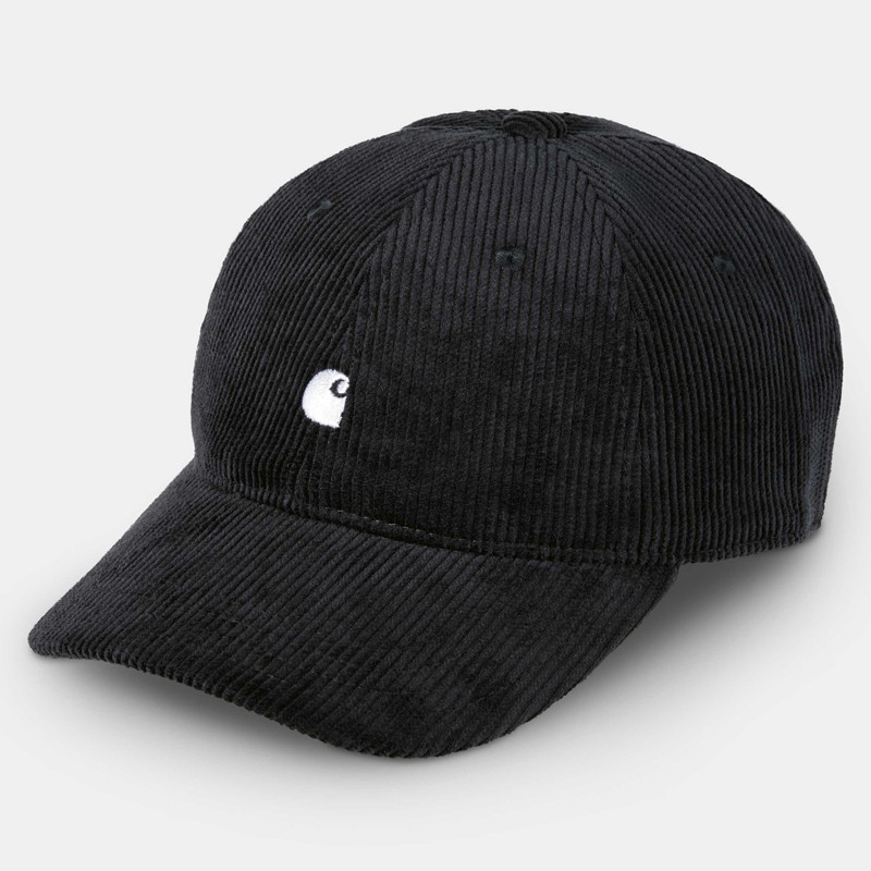 Gorra Carhartt: Harlem Cap (Black Wax)