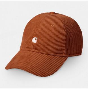 Gorra Carhartt: Harlem Cap (Brandy Wax)