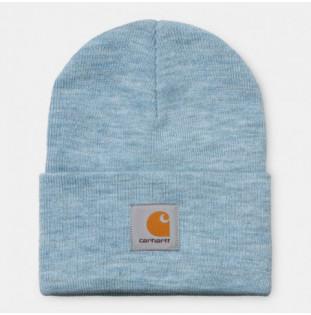 Gorro Carhartt: Acrylic Watch Hat (Frosted Blue Heather)