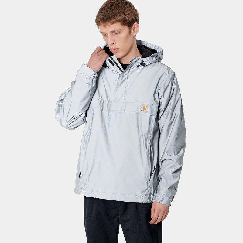 Chaqueta Carhartt: Nimbus Reflective Pullover (Grey Reflec)