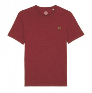 Camiseta Atlas: Okendo Tee (Heather Neppy Burgundy) Atlas - 1