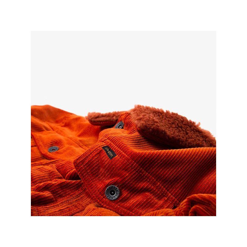 Chaqueta Brixton: CABLE SHERPA JKT (PICANTE)