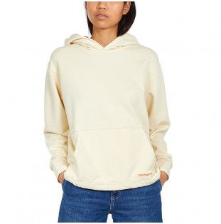Sudadera Carhartt: W HOODED NEO SWEAT (NATURAL POP CORAL) Carhartt - 1