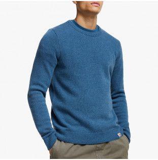 Jersey Carhartt: Allen Sweater (Prussian Blue) Carhartt - 1