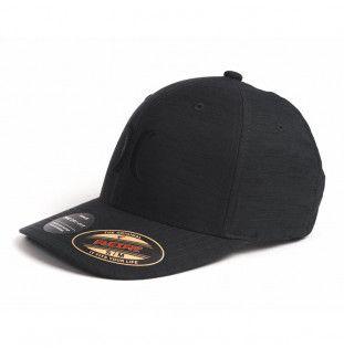 Gorra Hurley: DF MARWICK ICON HAT (BLACK HTR) Hurley - 1