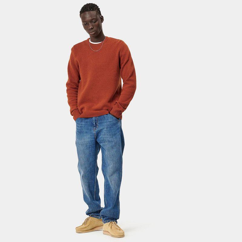 Jersey Carhartt: Allen Sweater (Cinnamon)