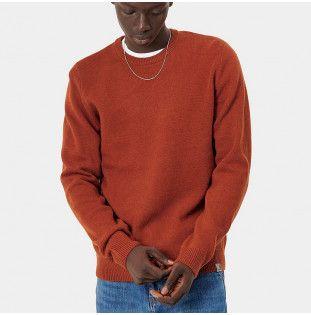 Jersey Carhartt: Allen Sweater (Cinnamon) Carhartt - 1